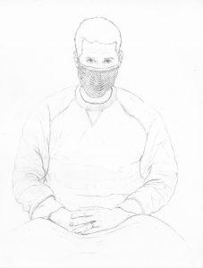 portraits 2020 - Loghman - Fabien Mérelle, artiste