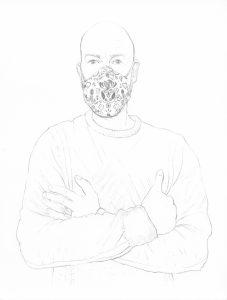 portraits 2020 - Loghman- Gaël_Davrinche, artiste peintre