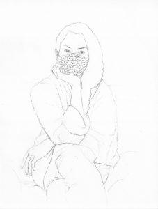 portraits 2020 - Loghman Gwendaline Bachini, artiste numérique