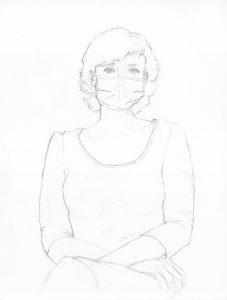 portraits 2020 - Loghman - Juliette Delaporte, artiste