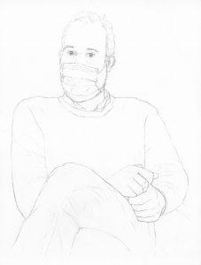 portraits 2020 - Loghman - Philip Vormwald, artiste