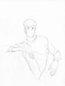 portraits 2020 - Loghman - Thibault Bissirier, directeur de galerie