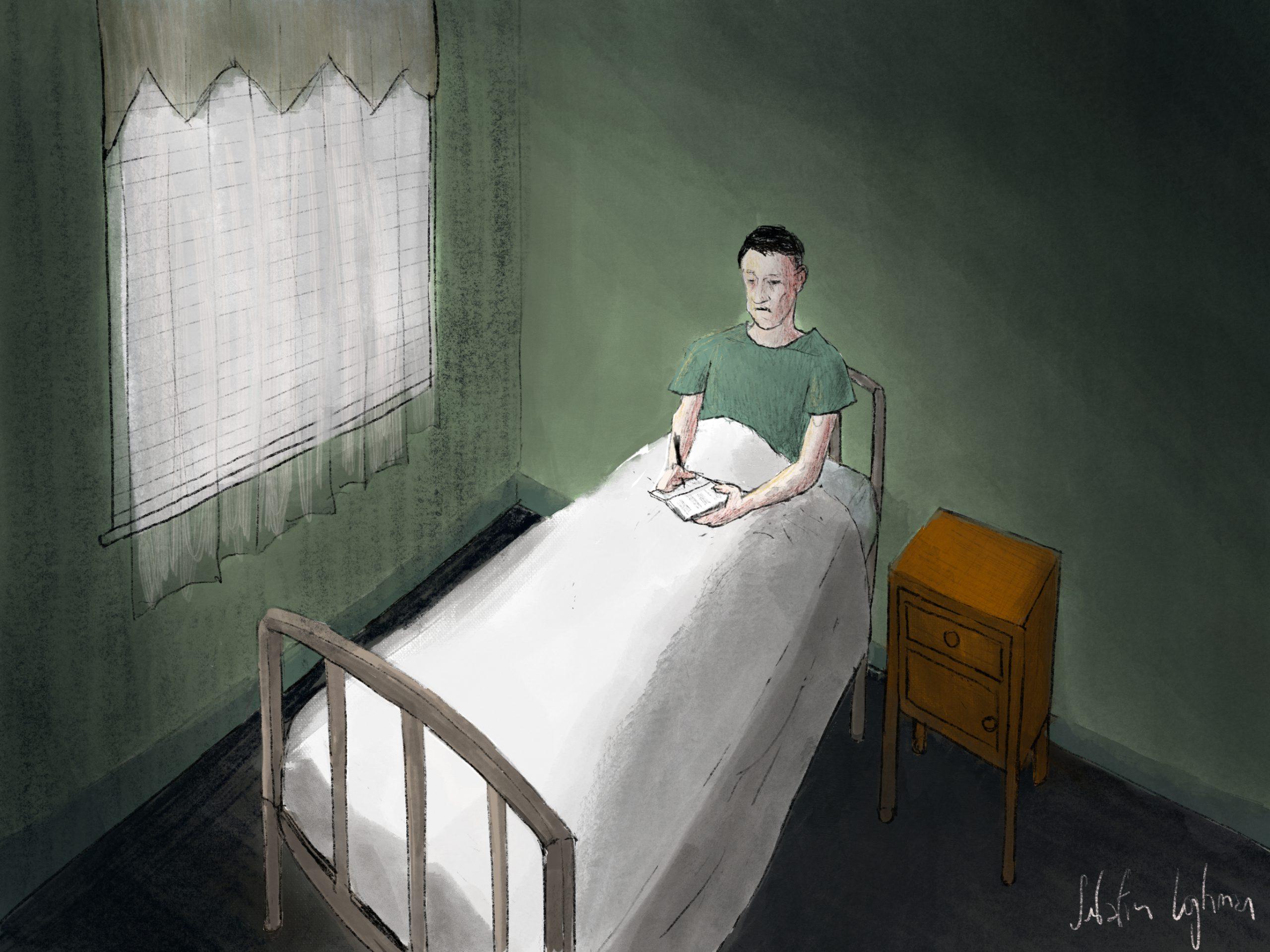 Lovecraft, the Outsider - peinture numérique