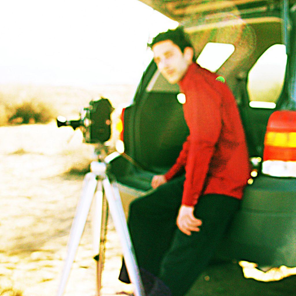 8 REVOLUTIONS - tournage - caméra pellicule Bolex