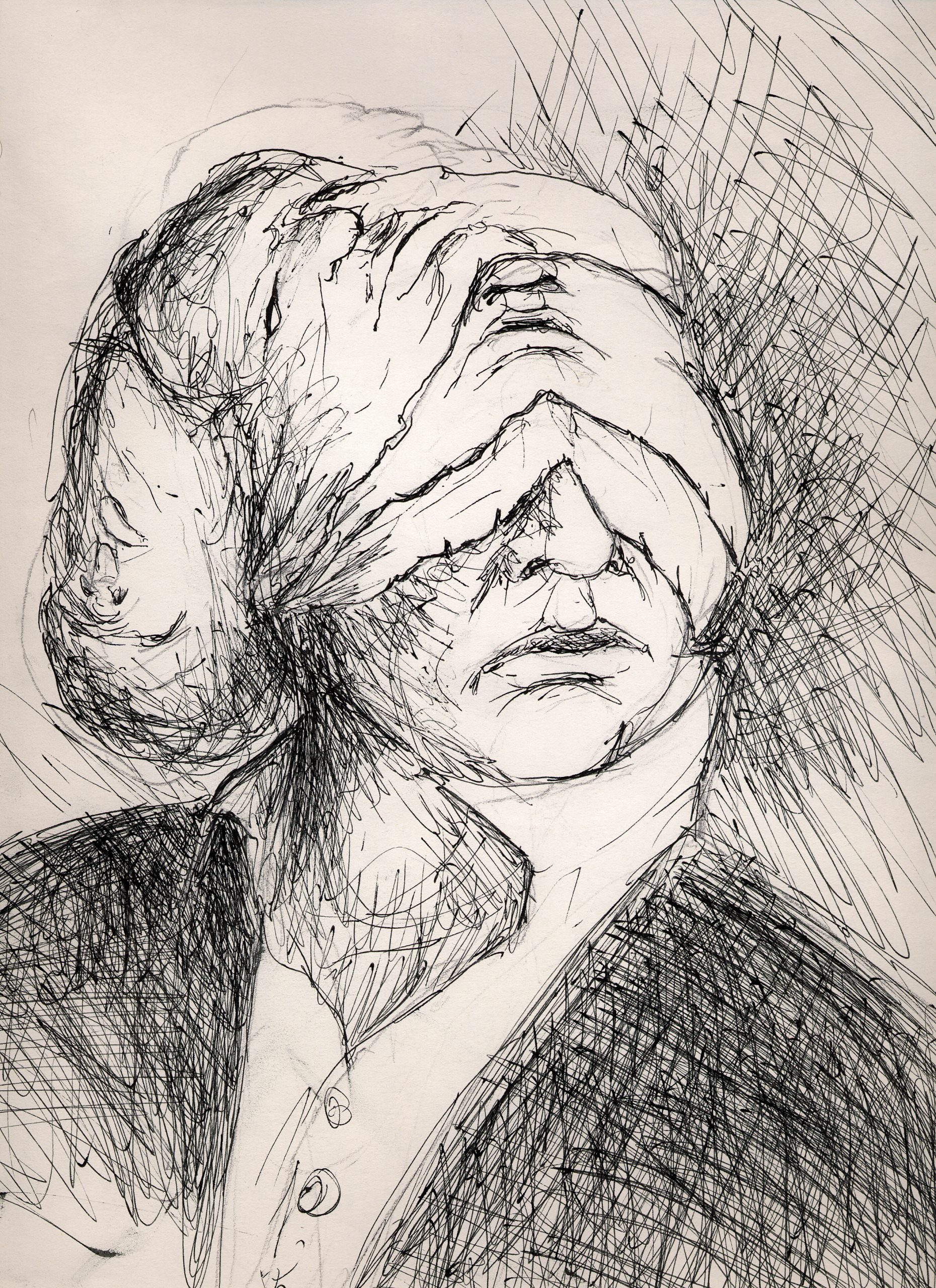 Faces, dessin de Sebastien Loghman
