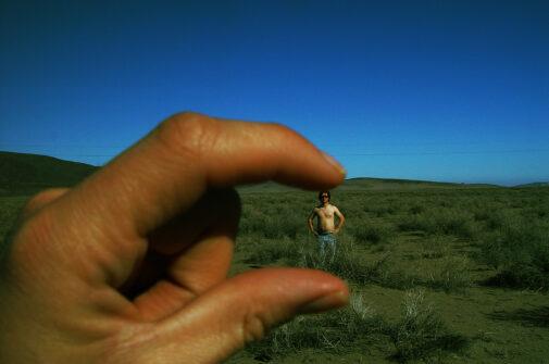 Tournage dans le désrt du Nevada, États-Unis d'Amérique
