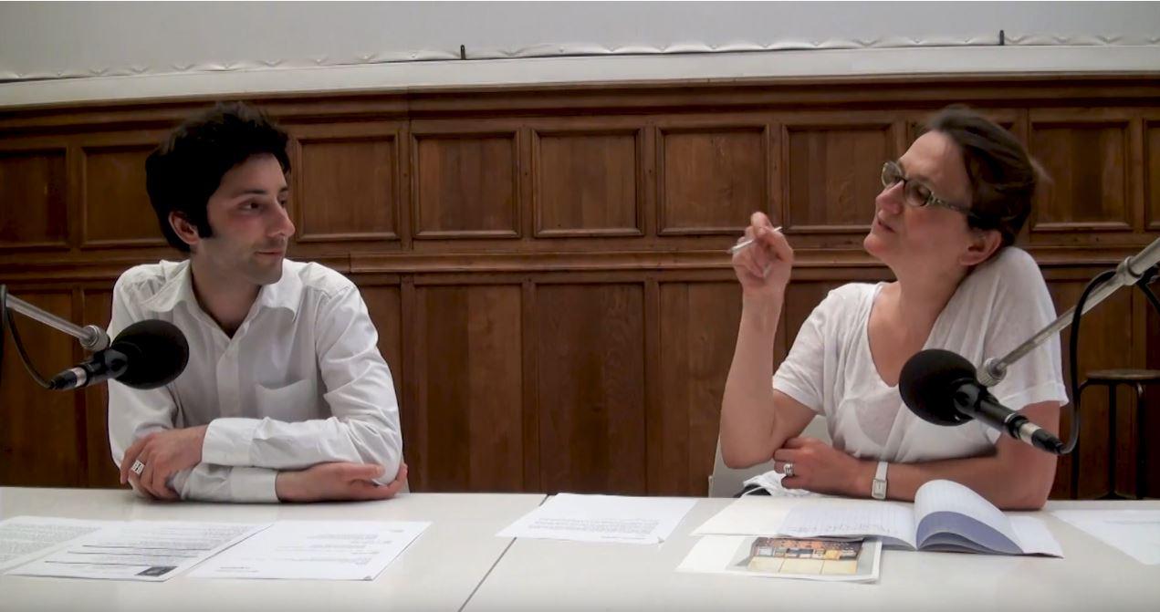 Conférence aux Beaux-Arts de Paris de Sebastien Loghman avec Isabelle Danel