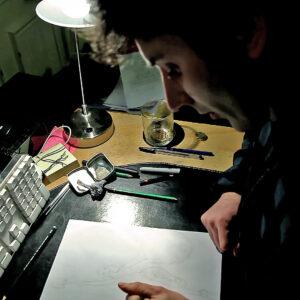 Sebastien Loghman conçoit les super héros de la vidéo Boys Noize -What You Want