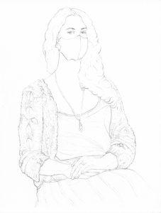 portraits 2020 - Loghman - Yosra Mojtahedi, artiste