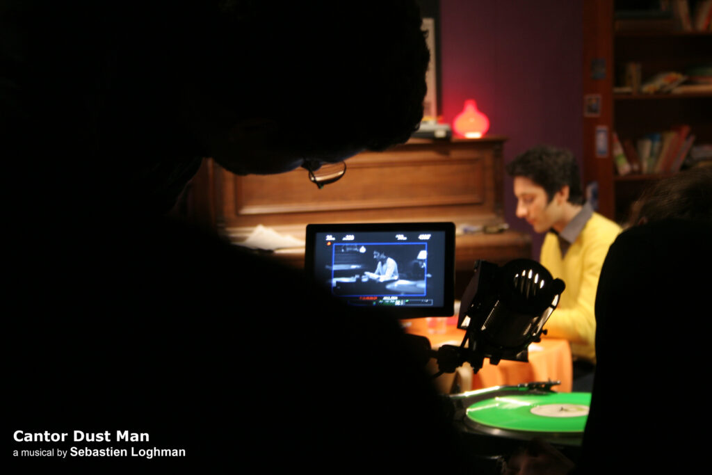 film Cantor Dust Man - tournage