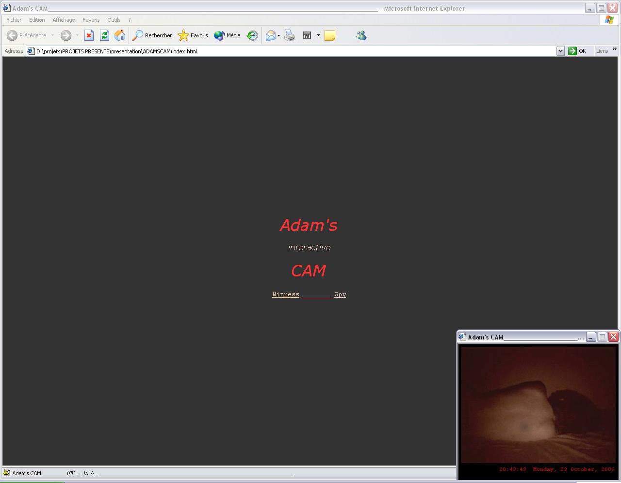 Adam's CAM