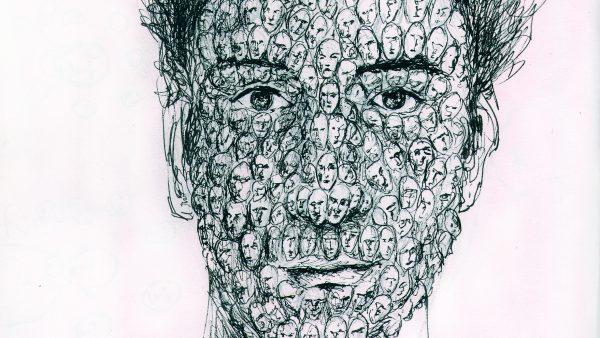 """""""Envisager"""" dessin der Sebastien Loghman"""