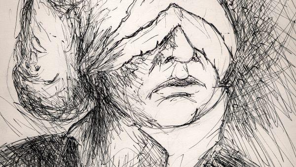 Faces - dessin de Sebastien Loghman