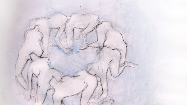Ouroboros - dessin de Sebastien Loghman